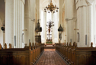 Haderslev Cathedral - Interior of the Cathedral