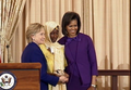 Hadizatou Mani (Niger) with Secretary of State Hillary Rodham Clinton and First Lady Michelle Obama.png