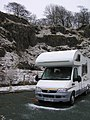 Hail, sleet and snow - happy camping - Easter 2006 - panoramio.jpg