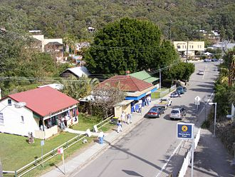 Brooklyn, New South Wales - Main street of Brooklyn