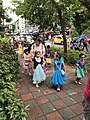Halloween Parading of Kindergarten's Children at Xindong Street, Songshan District, Taipei 20171024c.jpg