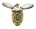 Halsur i form av en blomknopp, 1500-tal - Hallwylska museet - 110476.tif