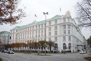 Hotel Atlantic Kempinski - Hotel Atlantic on An der Alster