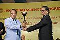 Handing Over Vigyan Jyoti - Valedictory Session - 100th Indian Science Congress - Kolkata 2013-01-07 2717.JPG