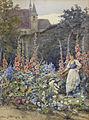 Hans Götzinger Mädchen im Blumengarten 1913.jpg