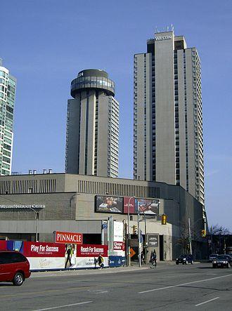 Keith Richards - Toronto hotel, site of Richards' 1977 drug bust.