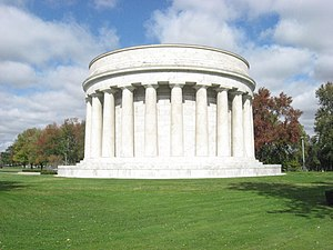 National Register of Historic Places listings in Marion County, Ohio - Image: Harding Tomb in Marion