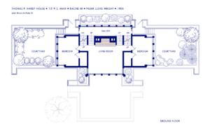 Thomas P. Hardy House - Image: Hardy House Ground Floor