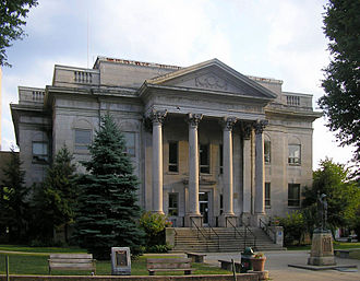 Harlan, Kentucky - The fifth and present courthouse of Harlan, Kentucky, built from 1918 to 1922
