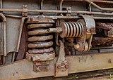 Harlingen. Spiraalveren oude treinwagon 12-07-2021. (actm.).jpg