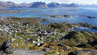 Hol, Nordland - Image: Hartvågen i Stamsund
