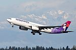 Hawaiian Airlines, Airbus A330-243, N395HA - SEA (18160775328).jpg