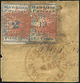 Hawaiian Missionary 2c and 13c stamps on piece.jpg