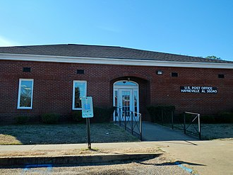 Hayneville, Alabama - Image: Hayneville, Alabama Post Office 36040