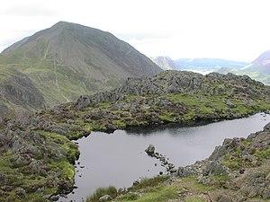 Haystacks (Lake District) - Summit of Haystacks with High Crag behind