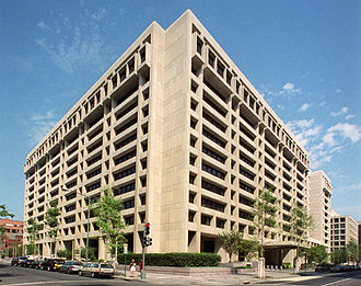 "International Monetary Fund - IMF ""Headquarters 1"" in Washington, D.C."