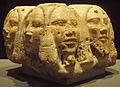Heads of Foreigners from Base of Royal Statue - 2nd Dynasty - ÄS 6300.jpg