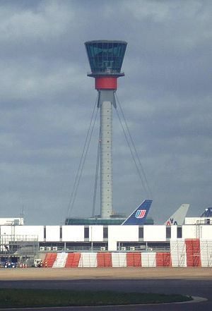 NATS Holdings - Heathrow Airport ATC tower