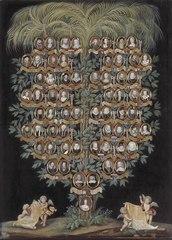 Hedvig Eleonoras drottning av Sverige stamträd