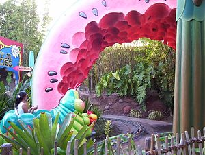 A Bug's Land - Image: Heimlich's Chew Chew Train