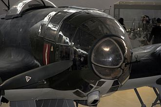 Heinkel He 111 - The Norway-restored He 111P-2's nose
