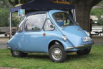 Microcar - Heinkel Kabine from 1957