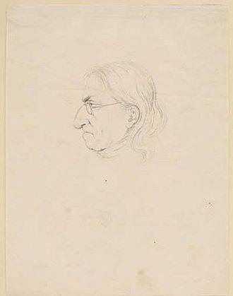 Heinrich Adam - Portrait of Adam by Arthur von Ramberg, 1848