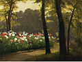 Henri Biva, L'Allée fleurie, oil on canvas, 72.4 x 92.1 cm.jpg