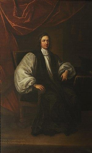 Henry Compton (bishop) - Henry Compton circa 1675