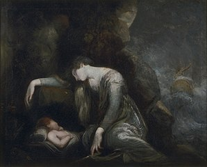 Danaë and Perseus onSeriphos(?)