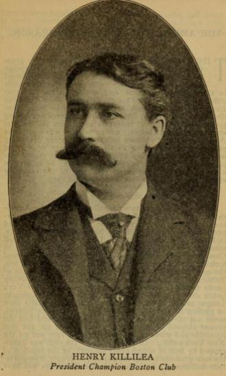 Henry Killilea - Killilea in the 1904 Reach guide