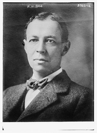 Henry M. Sage - Sage, ca. 1915