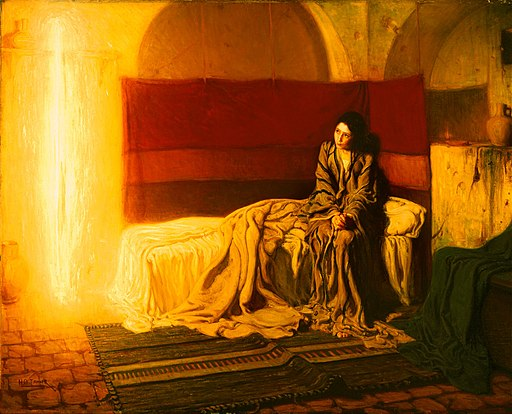 Henry Ossawa Tanner, American (active France) - The Annunciation - Google Art Project