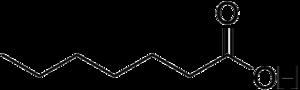 Non-proteinogenic amino acids - Image: Heptanoic acid