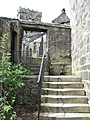 Heptonstall - steps off Church Lane - geograph.org.uk - 1435209.jpg