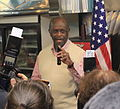 Herman Cain at Big Sky Diner Ypsilanti Michigan.JPG