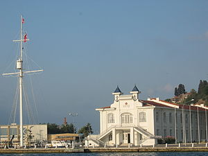 Naval High School (Turkey) - Deniz Lisesi (Naval High School) in Heybeliada Island