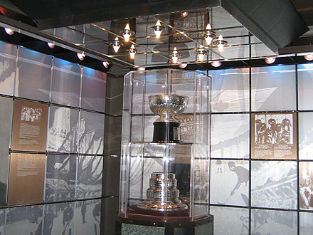 The original Stanley Cup in the Hockey Hall of Fame Hhof vault.jpg