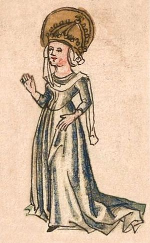 Hildegard of the Vinzgau - Image: Hildegard 1499