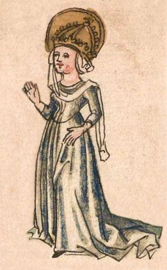 Hildegard of the Vinzgau - Image: Hildegard 1499