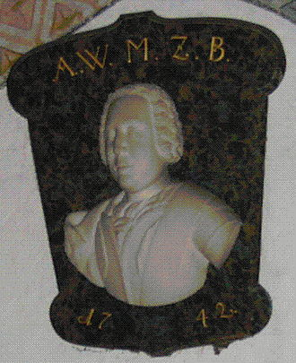 Albert Wolfgang of Brandenburg-Bayreuth - A.W.M.z.B. abbreviates Albrecht Wolfgang, Markgraf zu Brandenburg