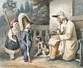 Hippolyte Bellangé Veteran and children 1828.jpg