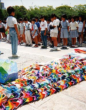 Origami - Image: Hiroshima senzaburu