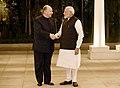 His Highness Prince Karim Aga Khan calls on the Prime Minister, Shri Narendra Modi, in New Delhi on February 21, 2018.jpg