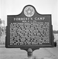 Historical marker for Forrest's Camp.jpg