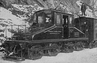 Hoboken Shore Railroad - Image: Hoboken Shore Railroad No. 1 cropped