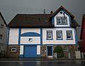 Hoffenheim Gebäude in den Farben TSG 1899.JPG