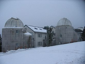 Hoher List Observatory - Image: Hoher List Observatory Buildings