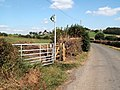 Hollin House Lane new access gate. - geograph.org.uk - 546030.jpg
