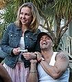 Holly Randall, Derrick Pierce at Luke Ford's 40th birthday party.jpg